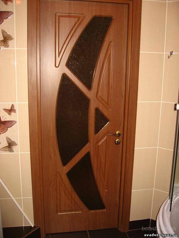 Установка межкомнатной мдф двери